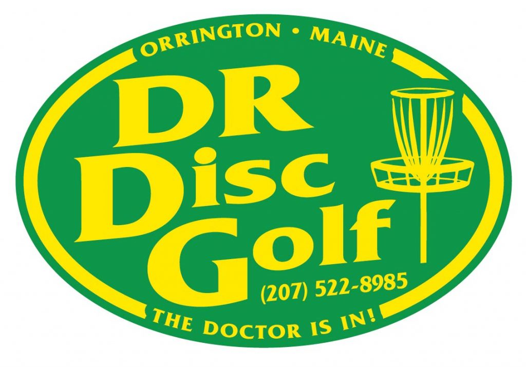 DR Disc Golf Logo